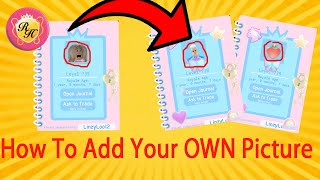 *HOW* To Add Your Own PICTURE To The New Royale High Journal // How To Upload A Decal To Roblox