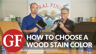 6 Steps To Choosing Wood Stain Colors | General Finishes