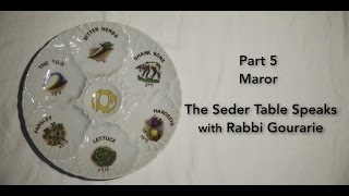The Seder Table Speaks Part 5