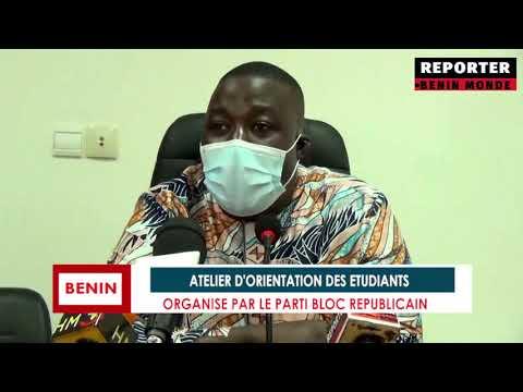 REPORTER BENIN MONDE : LES ETUDIANTS ORIENTES PAR LE PARTI DES JEUNES LE BLOC REPUBLICAIN REPORTER BENIN MONDE : LES ETUDIANTS ORIENTES PAR LE PARTI DES JEUNES LE BLOC REPUBLICAIN