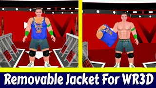 WR3D 20 by Mike Released |UNLOCKED | New Moves | Removable