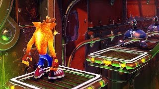 CRASH BANDICOOT REMASTERED NEW Gameplay Upstream PS4 2017