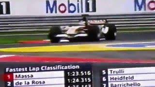 2006バトン初優勝/ワークスホンダ3勝目/F1/ハンガリー/フジTV中継/cf.君が代