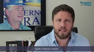Em mensagem de fim de ano, Requião Filho agradece apoio dos paranaenses