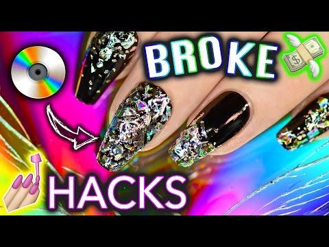16 Simple Broke Life Nail Hacks