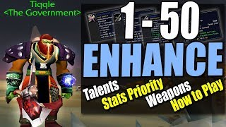 🍦Classic Enhance Shaman 1-50: Talents, Stats, Weapons, How to Play
