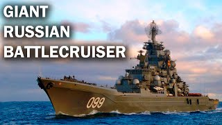 Pyotr Velikiy – the largest nuclear cruiser in the world