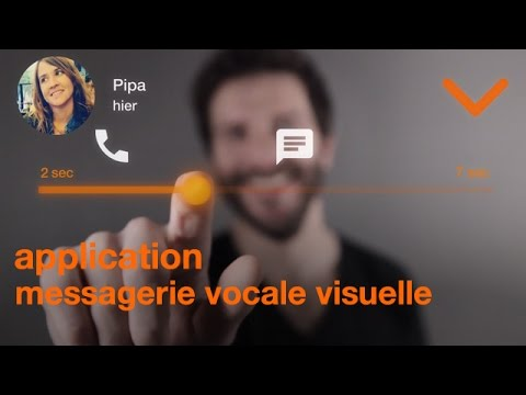 Video of Messagerie vocale visuelle