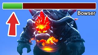 What Happens when you Cat Shine Fury Bowser before the Final Boss Fight?