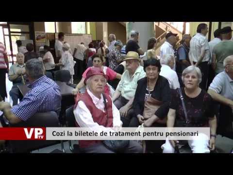 Cozi la biletele de tratament pentru pensionari