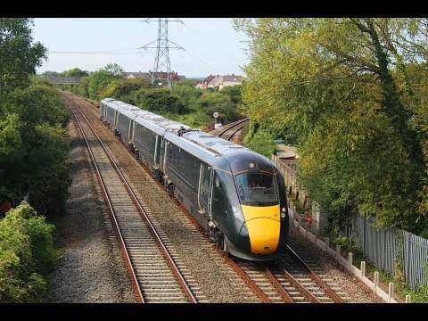 GWR IEP 800004 on driver training run passing Worle Junction…