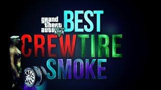 GTA 5 Crew Colors - Rare Tire Smoke for GTA 5 Paint Jobs! RARE Tire Smoke! (GTA 5 Rare Colors)