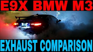 BEST e90 e92 & e93 M3 Aftermarket Exhausts - #3 is SOO Exotic !