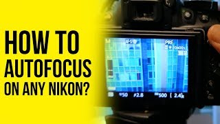 How To AUTOFOCUS Video With ANY Nikon DSLR? (D3400/D5300/D5500 Solution)