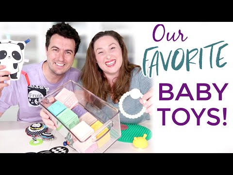 Our Favorite BABY TOYS ~ Top 12 Toys for Your New Baby & Great Baby Shower Gifts!