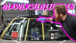 Glasversiegelungen der VERGLEICH und Anwendung // UGC vs. Ultra Glass vs. Vitro Hydro