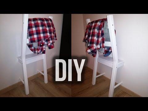 DIY | Der Stuhl für Klamotten - Wir bauen einen halben Stuhl