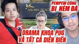 Drama Khoa Pug và tất cả diễn biến : Đến PewPew cũng bị ném đá - Hít Hà Drama