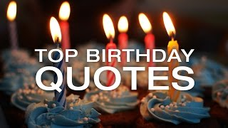 🔴 Best Birthday Quotes - Happy Birthday Images and Quotes