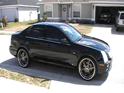 2006 Cadillac STS on 22's