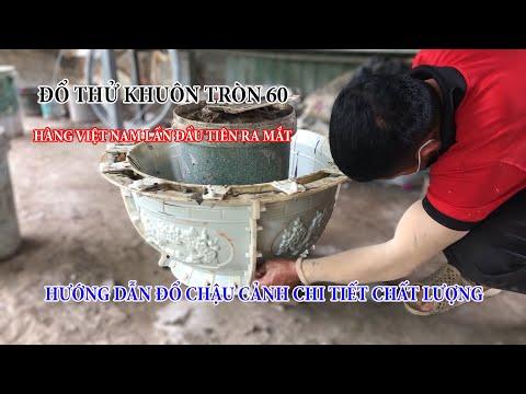 Khuôn Chậu Tròn ABS 60 Việt Nam