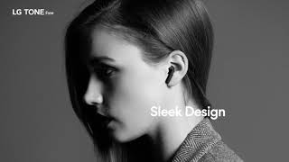YouTube Video wY22wUV26GM for Product LG TONE Free HBS-FN4 True Wireless Headphones by Company LG Electronics in Industry Headphones