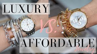 LUXURY VS. AFFORDABLE JEWELRY | LuxMommy