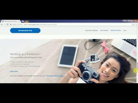 Video Cara Verifikasi Paypal Menggunakan VCC 2017