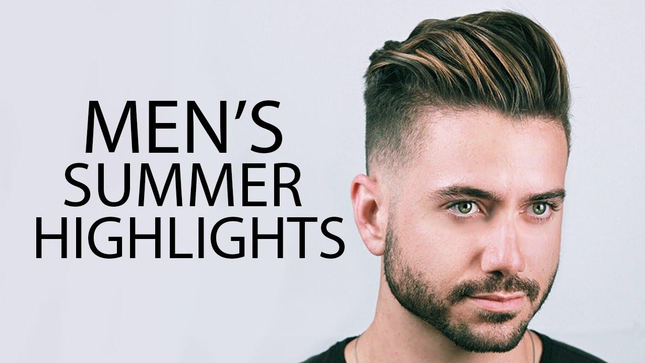 Video Mens Hair Highlights Mariano Di Vaio Summer Highlights 2019