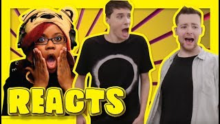 Rejects Feat  Daniel Howell By TomSka | Sketch Reaction
