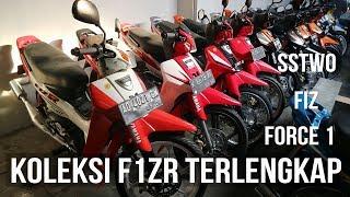 KOLEKSI YAMAHA F1ZR ORIGINAL TERLENGKAP DI INDONESIA!