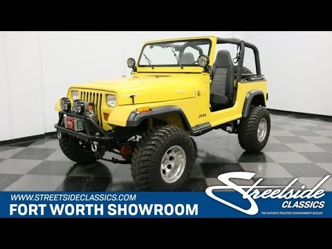 Video of '93 Jeep Wrangler located in Texas - $25,995.00 - P701