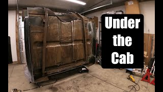 Underside Of The Cab Floor, Part 1 | 1970 LS Swap Chevy C10