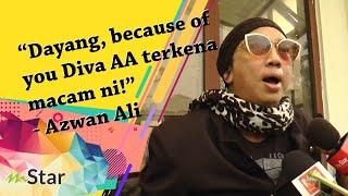 """""""Dayang, because of you Diva AA kena macam ni!"""" - Azwan Ali bayar denda RM17,000 hina warga hospital"""
