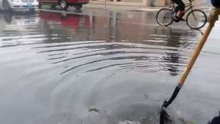 Draining A Flooded Intersection