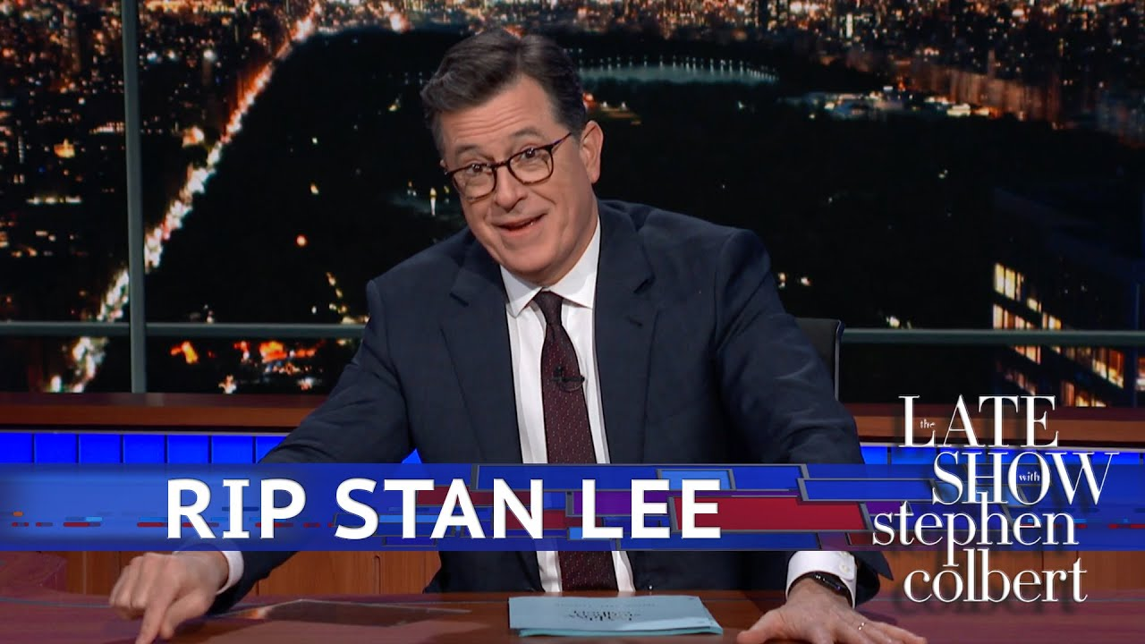 Colbert Remembers Stan Lee: Thanks For The Stories thumbnail