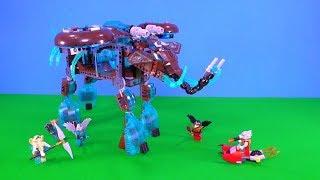 Lego Legends of Chima - Maula's Ice Mammoth Stomper 🤖❄️🐘