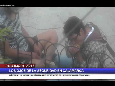 Los ojos de la seguridad en Cajamarca