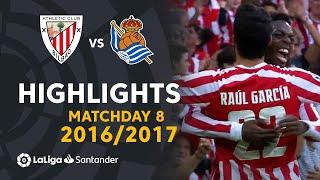 Highlights Athletic Club vs Real Sociedad (3-2) Matchday 8 2016/2017