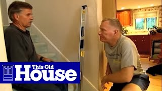 How to Install a Stair Handrail on Stairs | This Old House