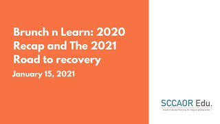 Brunch n Learn: 2020 Recap and The 2021 Road to recovery – January 15, 2021