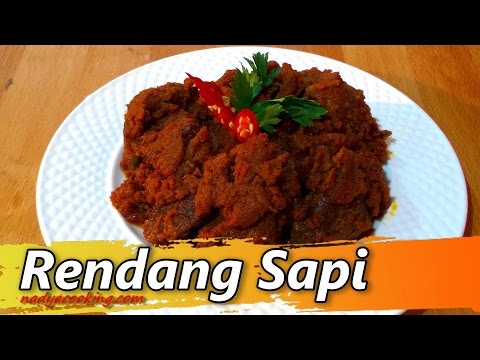 Video Resep Masakan Rendang daging Sapi