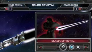 How to get the black lightsaber in  Star Wars the Force Unleashed
