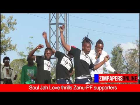 Soul Jah Love thrills Zanu PF supporters in Masvingo