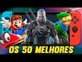 Os 50 Melhores Jogos De Nintendo Switch 2021 Best Ninte