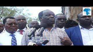 Kakamega Governor Oparanya storms Mumias Sugar in a bid to take over