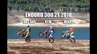 Enduro 300 2t 2018: Gas Gas vs Husqvarna vs KTM