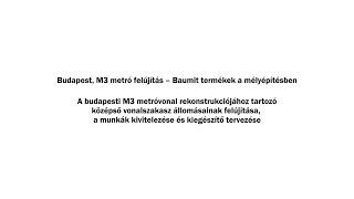 Az Erzsébet téri liftakna kialakítása bányászati módszerrel