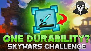 THE ONE DURABILITY CHALLENGE ( Hypixel Skywars )