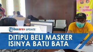 Terlanjur Transfer Rp36,4 Juta, Pria di Palembang Ditipu saat Beli Masker, Isinya Justru Batu Bata
